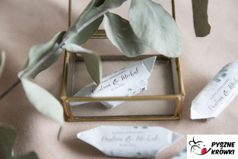 Gama pysznych krówek weselnych